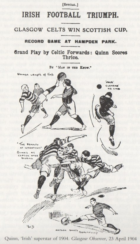 'Tic Toons - Jimmy Quinn.  Cup Final Hat-Trick Hero, 1904 (Part 1)