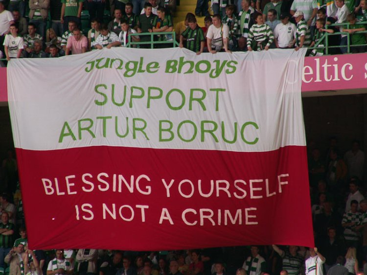 Blessing Yourself Is Not a Crime (Artur Boruc) - Jungle Bhoys
