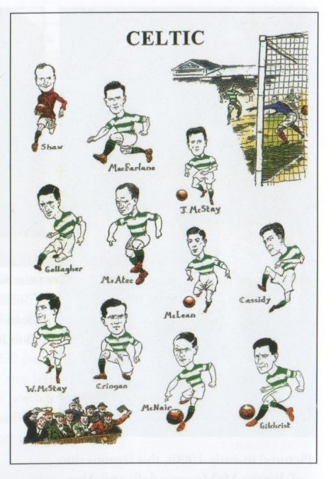 'Tic Toons - Celtic 1922, Scottish League Champions
