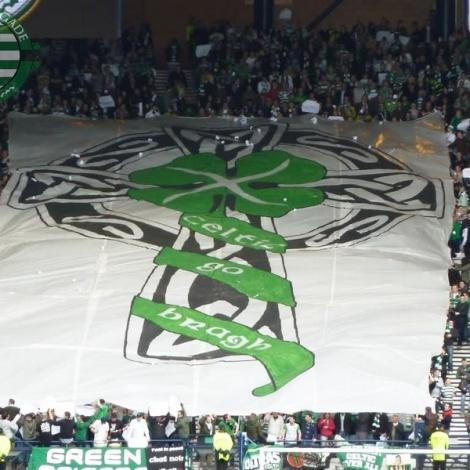 Celtic Go Bragh banner GB