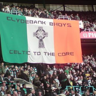 Clydebank Bhoys Celtic cross