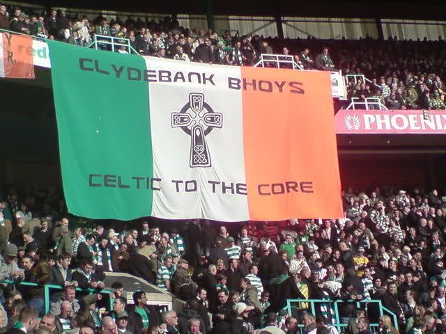 Clydebank Bhoys - Celtic to the Core Banner