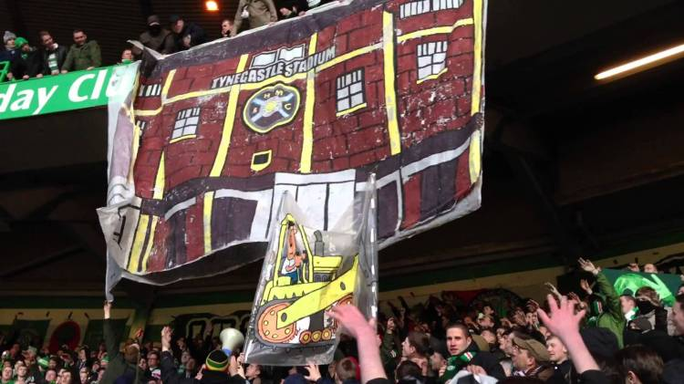 Flats, Flats, Flats, Glorious Flats - Green Brigade banner