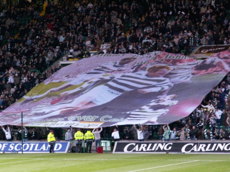 Jimmy Johnstone banner - Jungle Bhoys