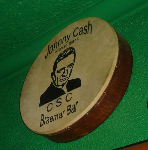 Johnny Cash Man In Black CSC - Bodhran not a banner!