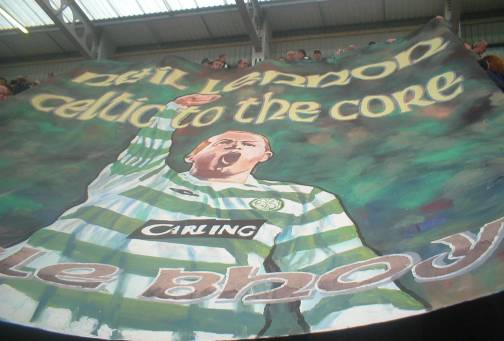 Neil Lennon - Celtic to the Core banner (Jungle Bhoys)