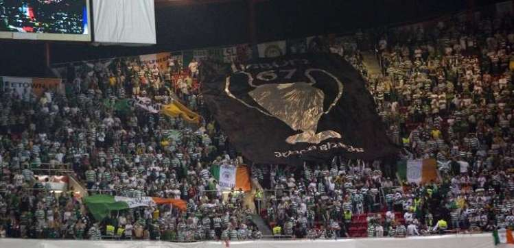 Lisbon '67 banner - Jungle Bhoys