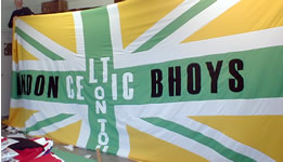 London Bhoys banner