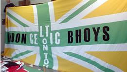London Bhoys flag