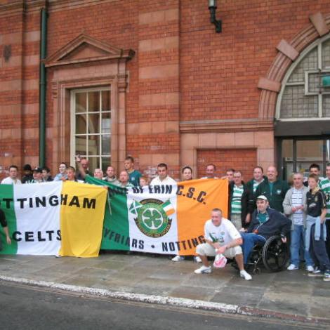 Pride of Erin CSC Nottingham