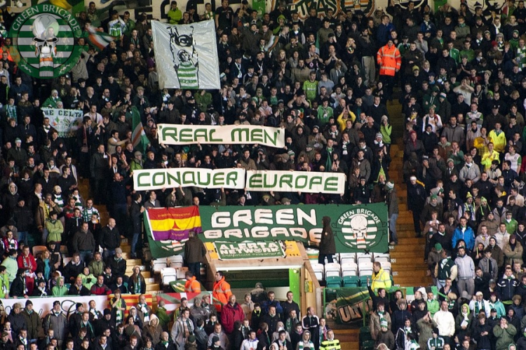 Real Men Conquer Europe - Rapid Vienna (Green Brigade)