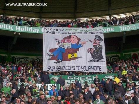 SNP - Give the dog a bone (Green Brigade)