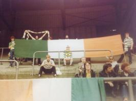 Sons of Donegal tricolours Rotterdam 1981