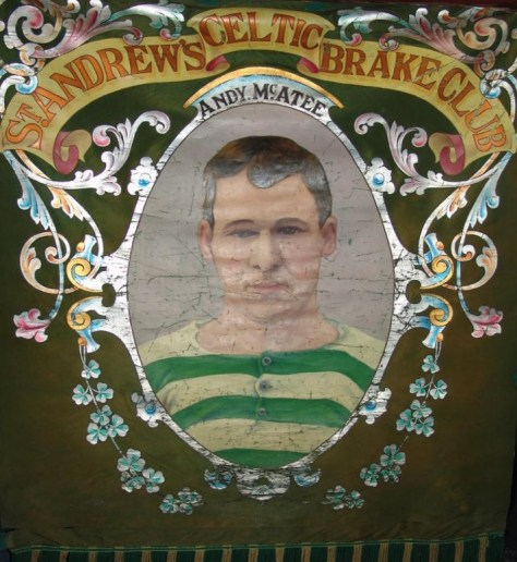 St. Andrew's Brake Club banner - Andy McAtee