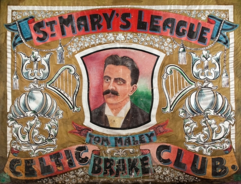 St. Mary's Brake Club Calton, Oldest Celtic Banner