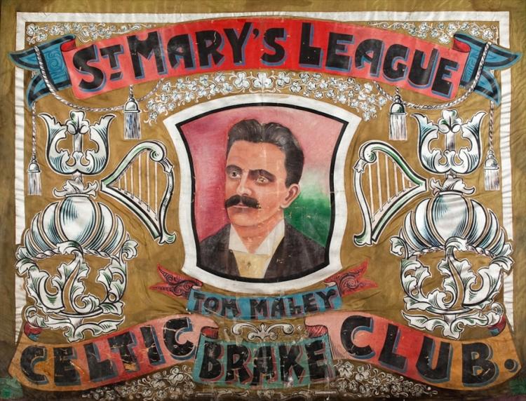 St. Mary's Brake Club Calton, Oldest Celtic Banner