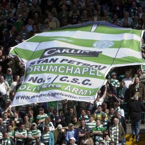 Stan Petrov Drumchapel hoops banner