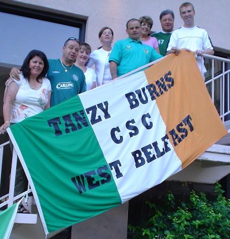 Tanzy Burns CSC - West Belfast
