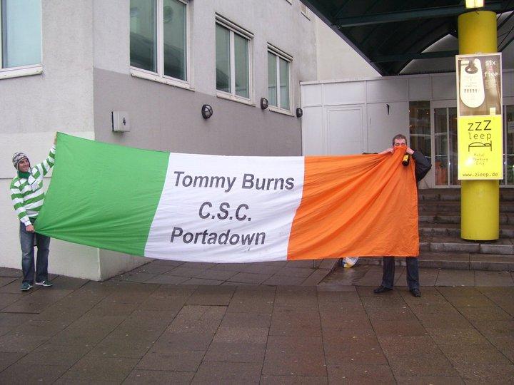 Tommy Burns CSC - Portadown
