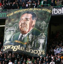 The Immortal Jock Stein banner