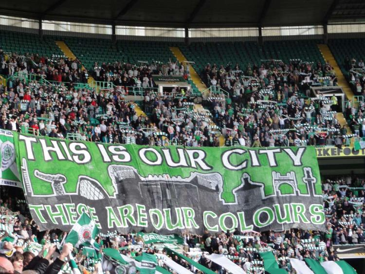 This Is Our City banner - Green Brigade