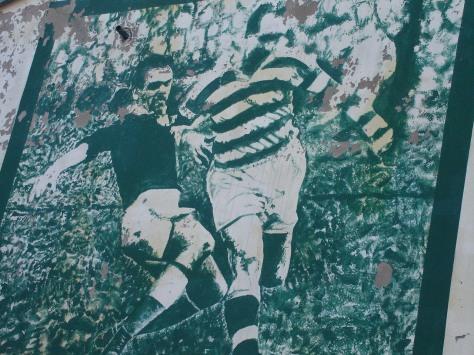 Tully mural, Celtic bar