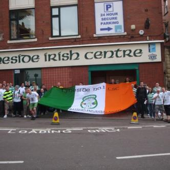 Tyneside No 1 outside Irish Centre