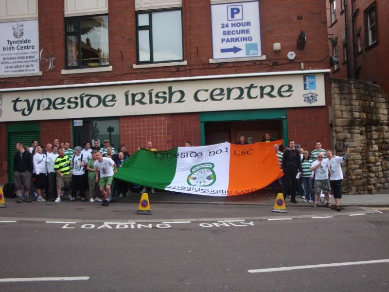 Tyneside No 1 outside Irish Centre