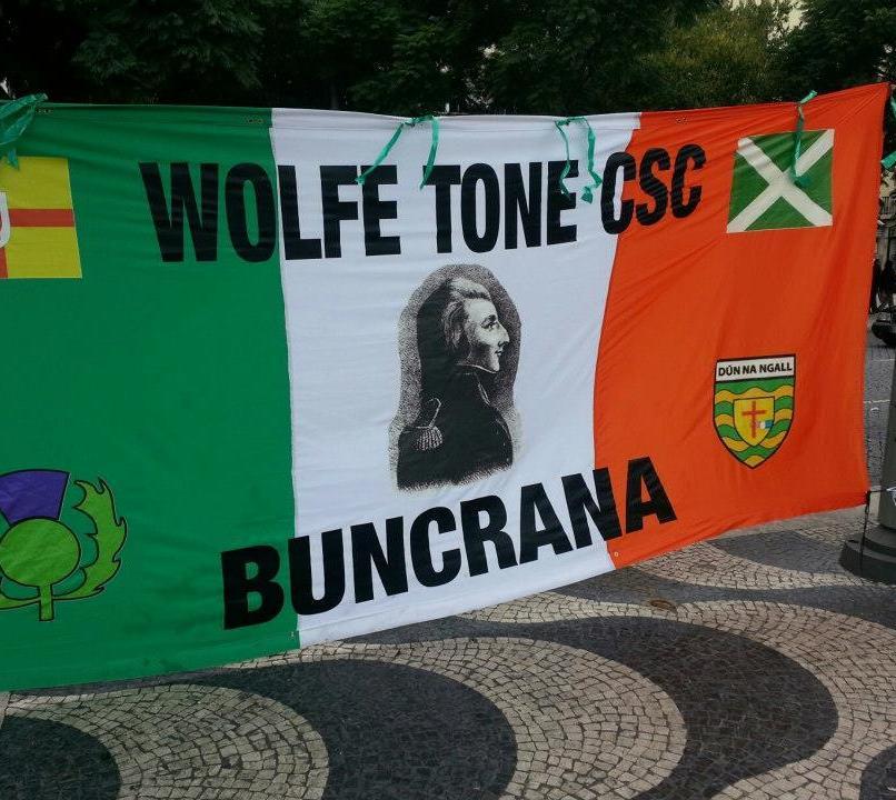 Wolfe Tone CSC Buncrana new