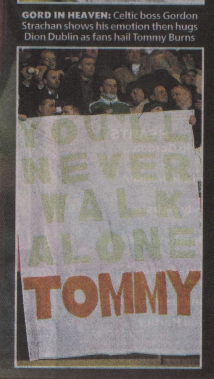 You'll Never Walk Alone Tommy - Tommy Burns