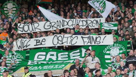 Your Grandchildren Will Be Celtic Fans!    (Green Brigade)