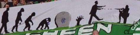 Zombies banner - Green Brigade