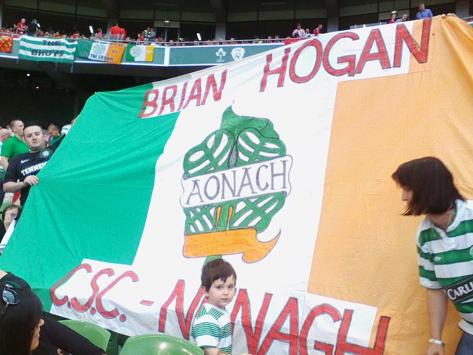 Celtic banners - Brian Hogan CSC, Nenagh, Co. Tipperaray