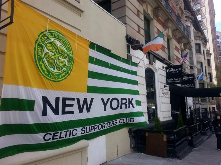 Celtic Banners:  New York CSC, new banner