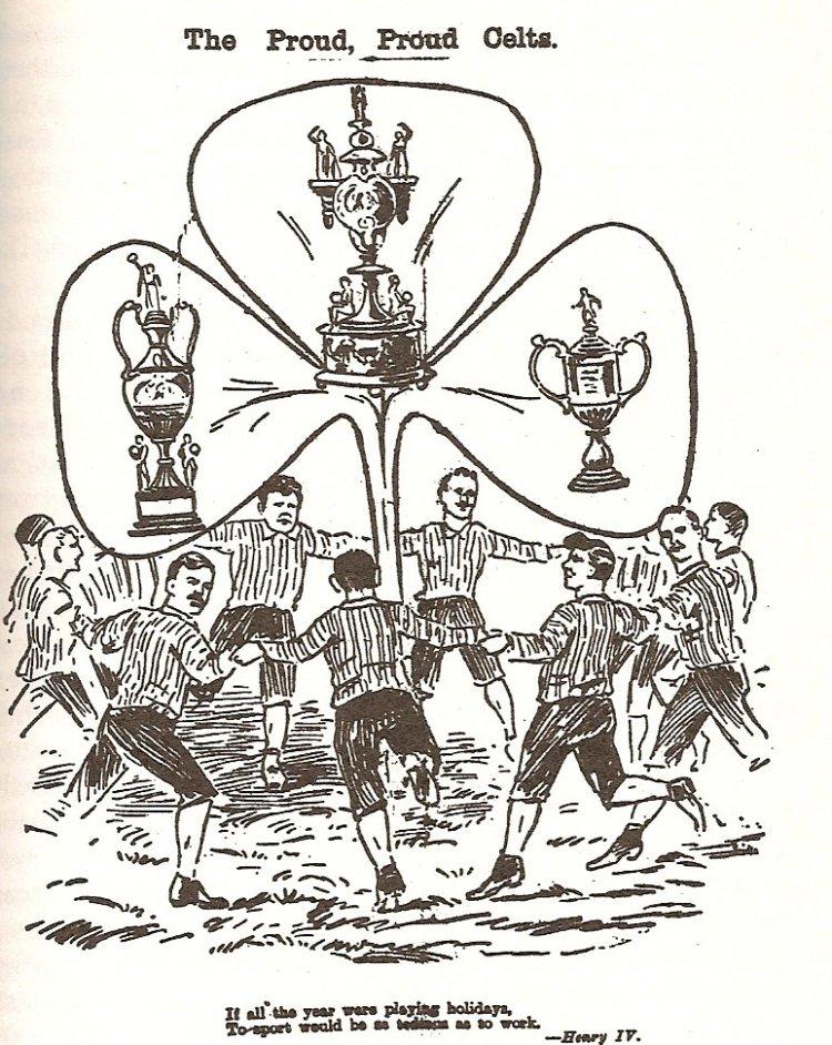 'Tic Toons - 'The Proud, Proud Celts' 1892