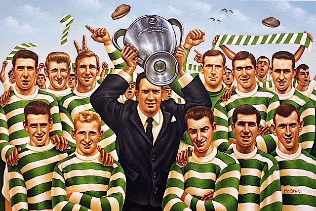Art of the Celts 7 - 'The Lisbon Lions' by Graham McKean