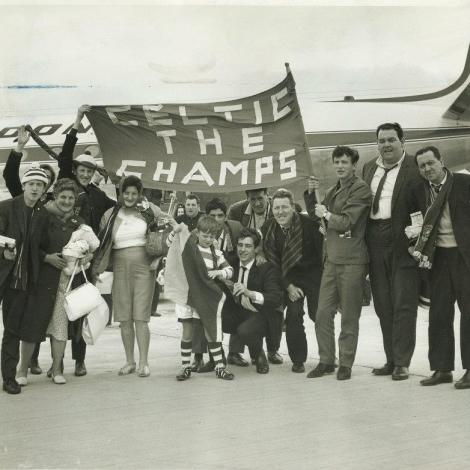 Celtic the Champs banner
