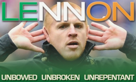 Neil Lennon - a Celtic Legend