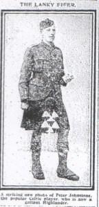 Peter Johnstone, Lanky Fifer