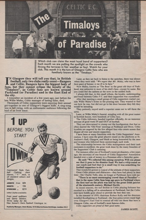 Timaloys of Paradise photo 1961