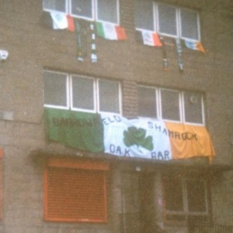Barrowfield Shamrock old banner