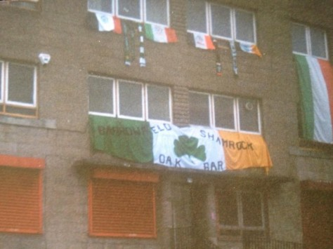 Barrowfield Shamrock old banner