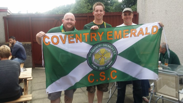 Coventry Emerald CSC beer garden