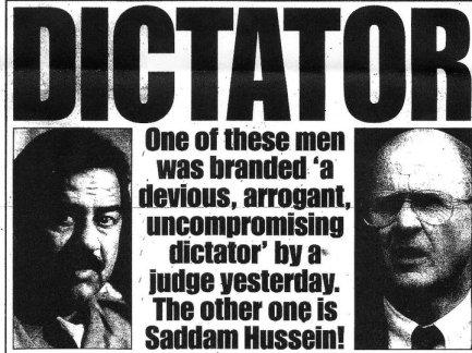 Fergus and Saddam