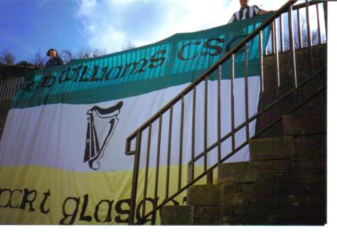 Tom Williams CSC  old banner harp