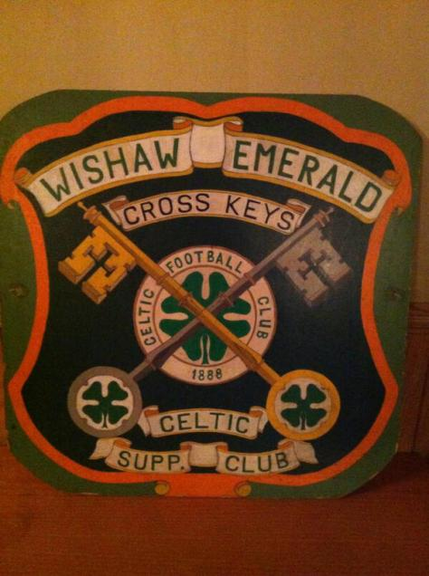 Wishaw Emerald Cross Keys  SHEILD