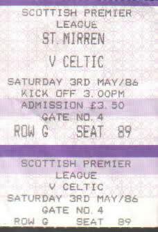 Match ticket