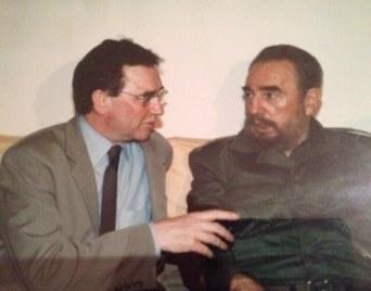 Brian Wilson and Fidel Castro