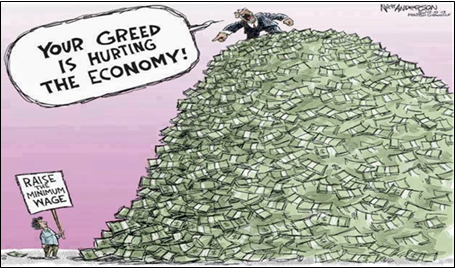 Hurting the economy