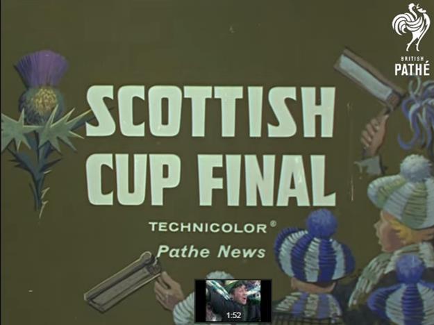 1963  Scottish Cup Final Colour Footage